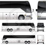 Tour Bus Graphics Template